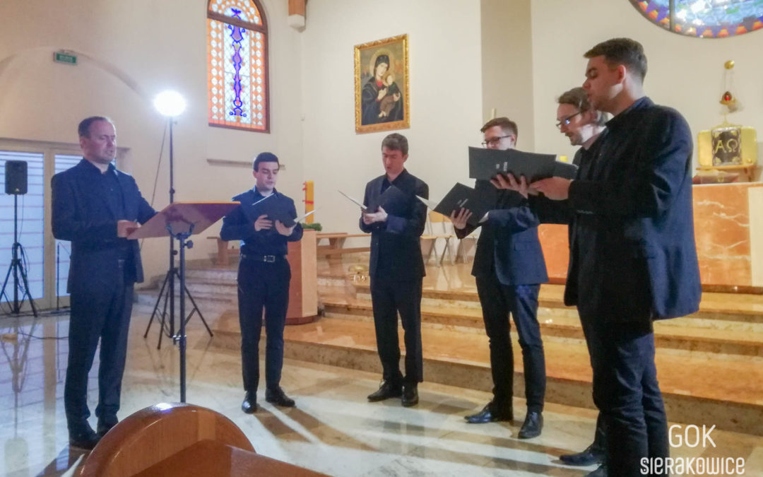 Występ zespołu Vox Intensa w ramach koncertów Passio