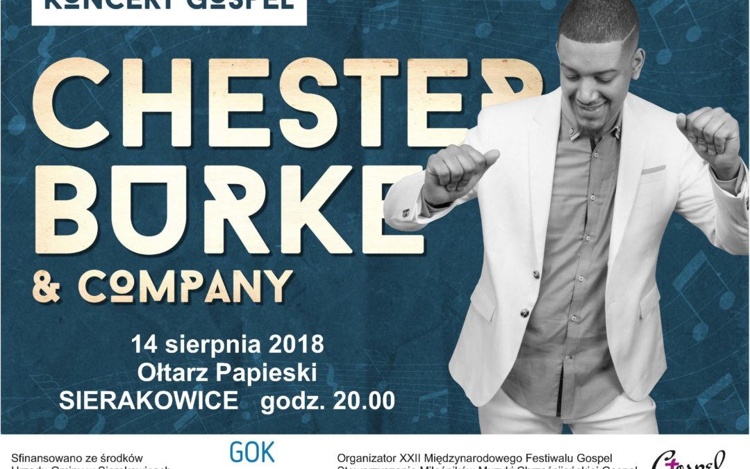 KOMUNIKAT: Koncert muzyki Gospel w Sierakowicach!