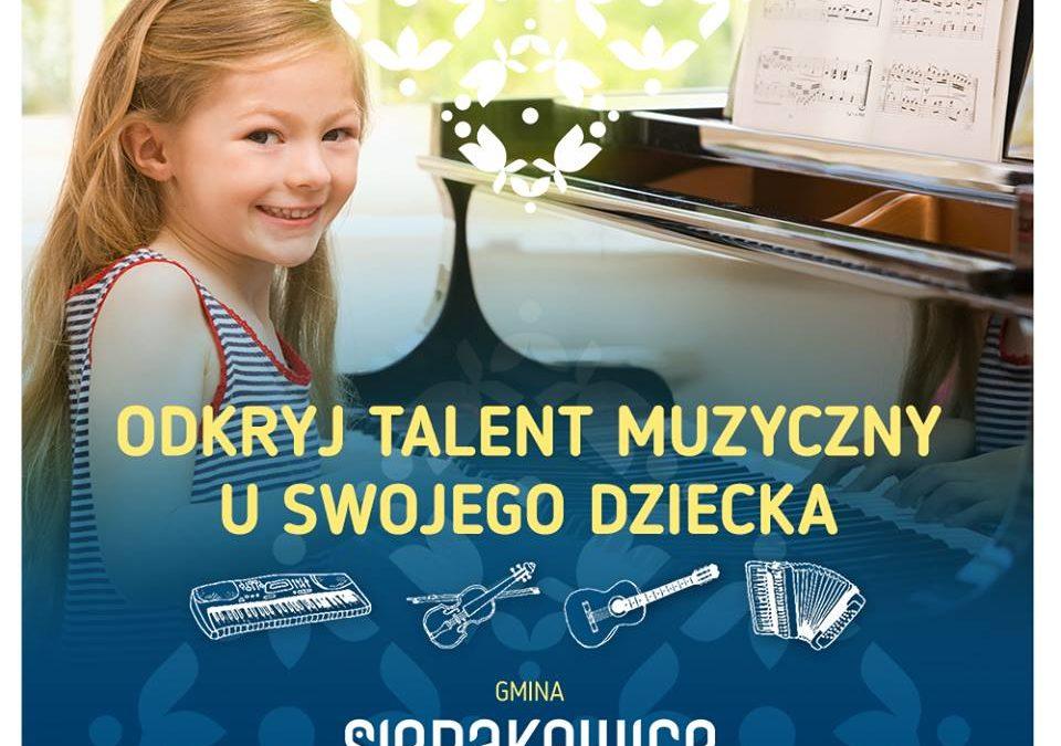 Zapisz się na lekcje gry na pianinie i akordeonie