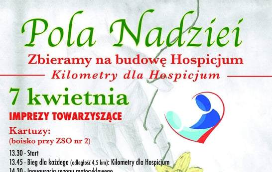Pola Nadziei w Sierakowicach- dołącz do akcji na rzecz Kartuskiego Hospicjum !