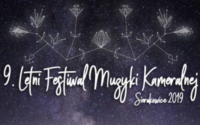 Zapraszamy na 9. Letni Festiwal Muzyki Kameralnej!
