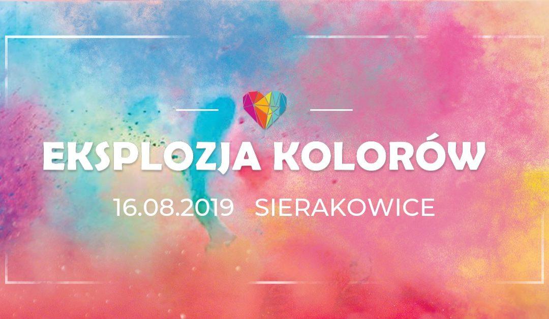 Eksplozja Kolorów w Sierakowicach 2019!