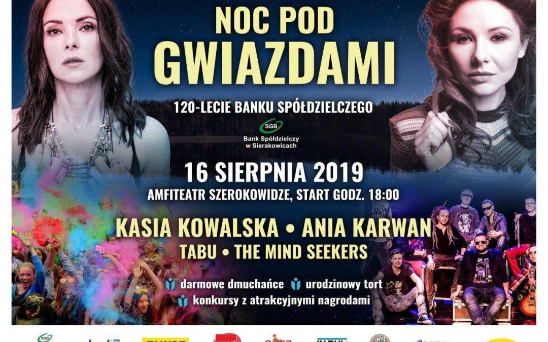 Noc pod gwiazdami 2019 !