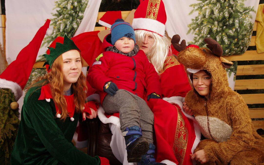 Zdjęcia z Mikołajem