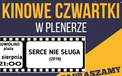 Kinowe czwartki – Gowidlino – 6 sierpnia !
