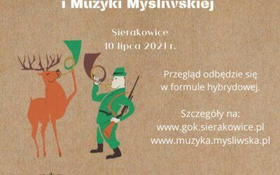 Przegląd Muzyki Mysliwskiej Sierakowice 2021