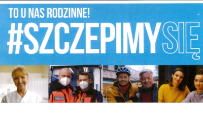 #szczepimy się w Gminnym Ośrodku Kultury w Sierakowicach